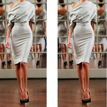 FASHION GREY DRESS
