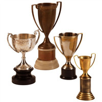 Arteriors Home Hockaday Brass Trophies, Set/4 - Arteriors Home 2239