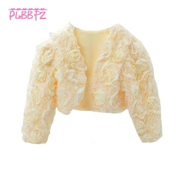 Retail Full Sleeves Shawl Coat Collocation With Wedding Dress Autumn Winter Elegant Dress UP With Party Prom Dress PJ003