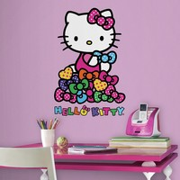 Hello Kitty Bows 2-piece Peel and Stick Wall Decal Set