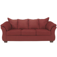 Flash Furniture Signature Design by Ashley Darcy Sofa in Salsa Fabric [FSD-1109SO-RED-GG]