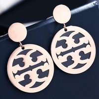 Tory burch temperament ear nail is contracted 100 build long style pendant