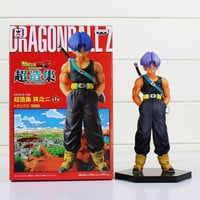 Cartoon Dragon Ball Z Resurrection F Trunks Figure Toy Collectible Model Dolls 15cm Free Shipping