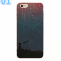 Back Cover For Apple iphone 7 Plus Case Printed Phone Case For 6Plus 6sPlus 7 TPU Capa -0531