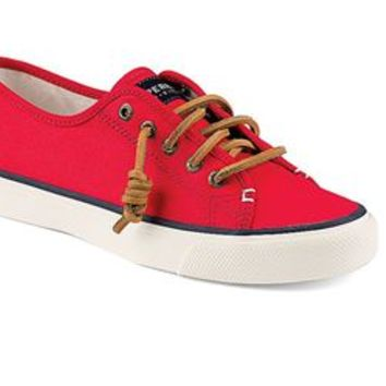 Sperry Top-Sider Womens Seacoast Sneaker in Red STS91425