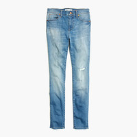 "9"" HIGH RISER SKINNY SKINNY JEANS IN SADIE WASH"
