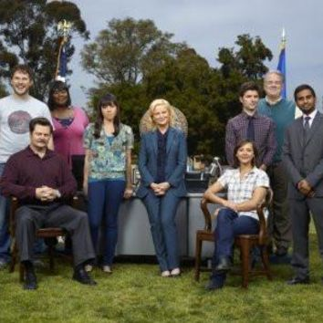 Parks And Recreation Poster Standup 4inx6in