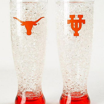 Crystal Pilsner Freezer Mug - U of Texas Longhorns