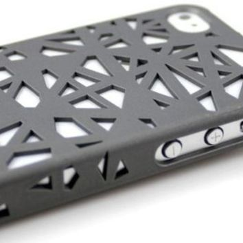 Newstore Bird Nest Rear Hard Skin Protector Case Cover For Apple iPhone 5C (Gray Smoke)