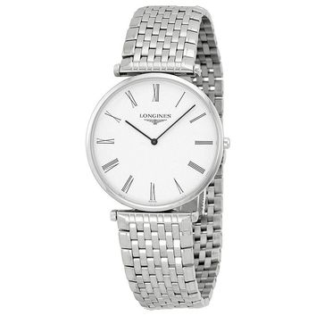 Longines La Grande Classique White Dial Stainless Steel Mens Watch L47664116