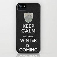 Keep Calm - Game Of Thrones Poster 02 iPhone Case by Misery | Society6