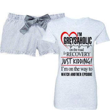 Grey's Anatomy Addicted Women's Pajamas