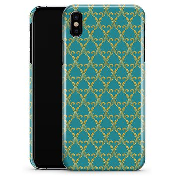 Mint Summer Gold v1 - iPhone X Clipit Case