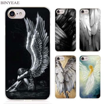 Angel Wings Clear Phone Case