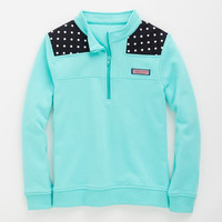 Shop Pullovers: Dot Shoulder Shep Shirt for Girls | Vineyard Vines