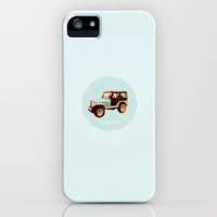 teen wolf art: stiles' jeep iPhone & iPod Case by Aspenaire