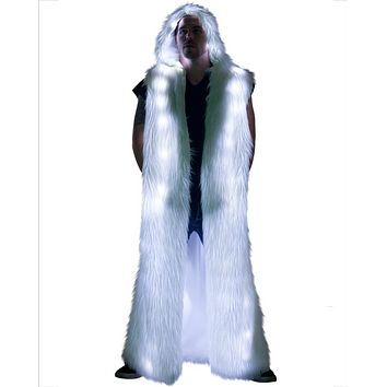 Men's Light-Up Hooded Duster