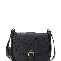 FOREVER 21 Perforated Faux Leather Crossbody