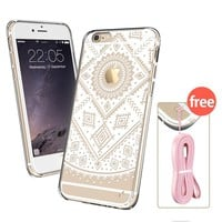 iPhone 6s Case, iPhone 6s Case Clear, iPhone 6s Case Bumper, ESR Totem Series Hybrid Case [One Piece] TPU Bumper +Hard PC Back Cover Protective Case for 4.7 inches iPhone 6s / 6(Dream Catcher)