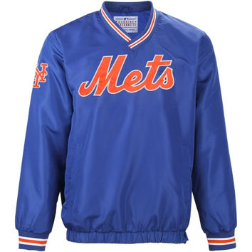 New York Mets Stop and Go Pullover Jacket – Royal Blue
