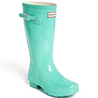 Hunter 'Original Gloss' Rain Boot (Little Kid & Big Kid)(Nordstrom Exclusive Color)