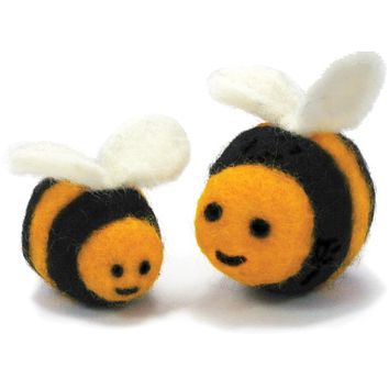 Feltworks Needle Felting Kit - Bees