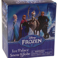 Disney Frozen Ice Palace Snow Globe Mega Mini Kit Stocking Stuffer Sticker Book
