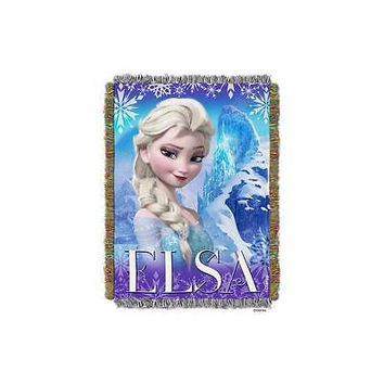 """Disney Frozen Cold Hearted 48"""" X 60"""" Tapestry Throw"""