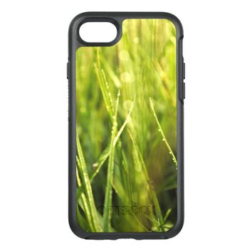 colourful green natural outdoor abstract design OtterBox symmetry iPhone 7 case