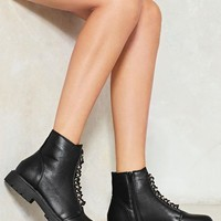 Fire Watch Vegan Leather Boot