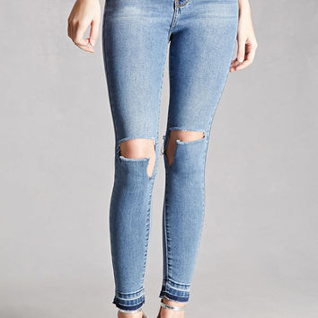 Momokrom Ripped Knee Jeans