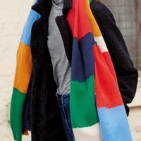 Buy Multi Colourblock Scarf from the Next UK online shop