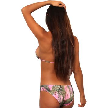 Women's Pink Camo Bikini True Timber Basic Basic Only  Swimwear