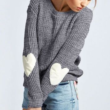 This Heart Sweater Rocks, all Sizes