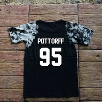 Sam Pottorff Youtuber Magcon Boys O2L Tie dye Shirt Tye Dye Shirt Black Shirt