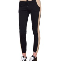 Golden Autumn Pants - Black/Gold