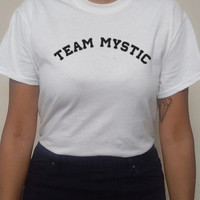 Team Mystic Pokemon Tee sold by ED PRODUCTIONS LLC