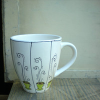 coffee cup mug gift for the coffee lover / by catherinereece