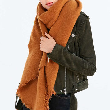Nubby Oblong Blanket Scarf - Urban Outfitters