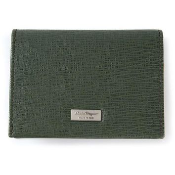 Salvatore Ferragamo Logo Plaque Wallet