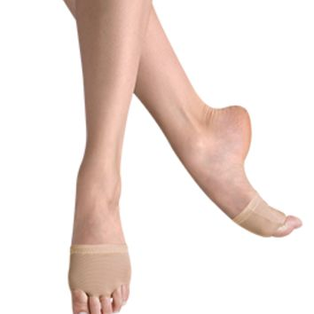 Leo Nude Illusion Lyrical Dance Shoes