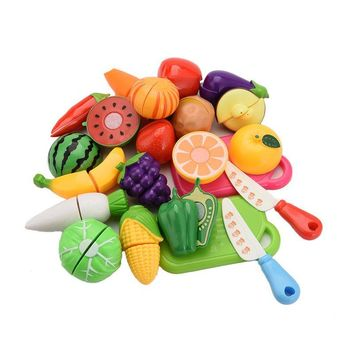 20pcs Toy Fruit Vegetable Set