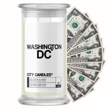 Washington DC City Cash Candle
