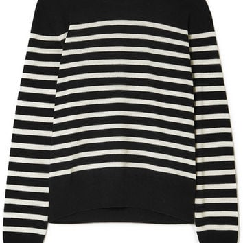 Saint Laurent - Marino striped cashmere sweater