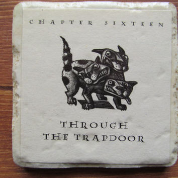 Harry Potter Through the Trap Door Coaster