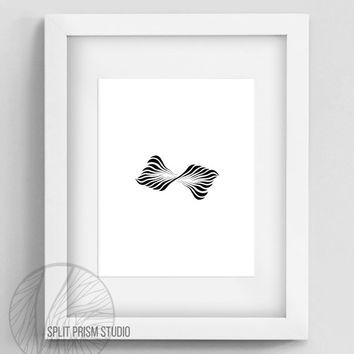 Original Art Print, Instant Download, Geometric Print, Digital File, Wall Art, Black and White, Silhouette, Minimal Design, Geometric