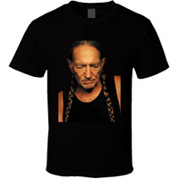 Willie Nelson Country Singer T Shirt