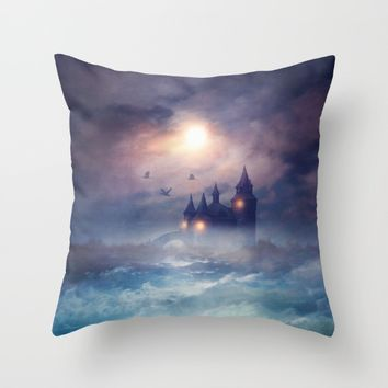 Sunset I C. III Throw Pillow by Viviana Gonzalez