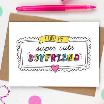 Funny birthday card boyfriend, Birthday Card Boyfriend, Boyfriend Birthday Card, I love you card, Boyfriend card, Boyfriend Gift