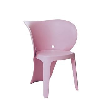 Elephant Inspirational Baby Pink Children's Chair (Set of 4)